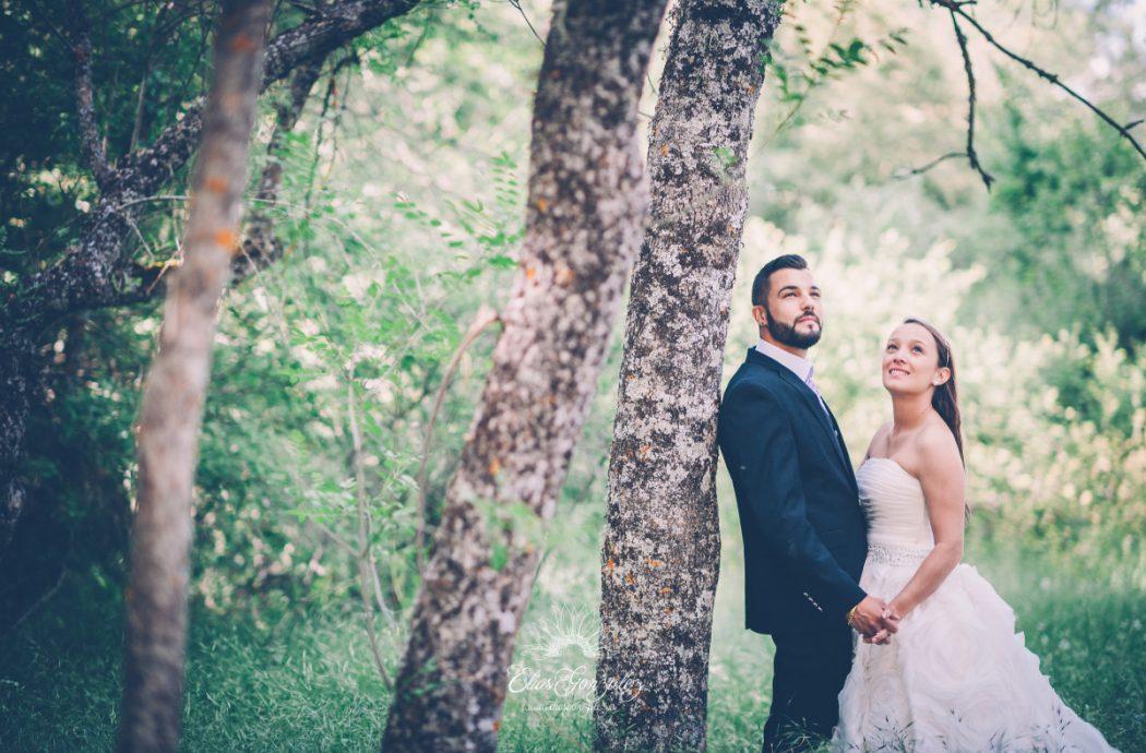 Post boda naturaleza campo monasterio paular susana y raul 10