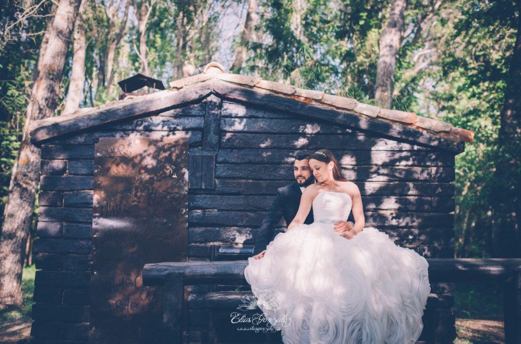 Post boda naturaleza campo monasterio paular susana y raul 25