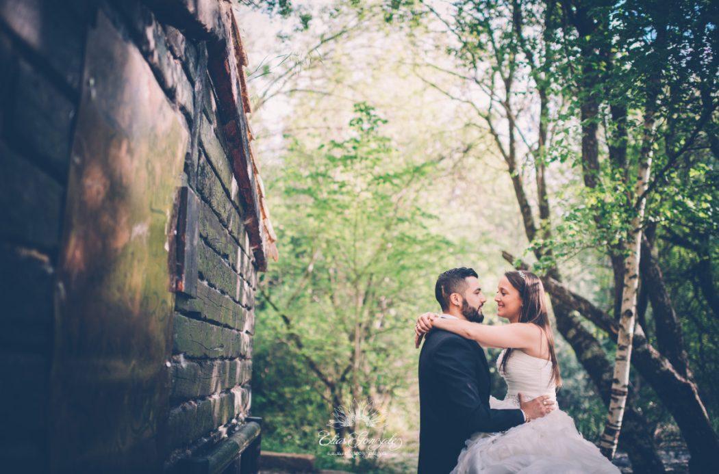 Post boda naturaleza campo monasterio paular susana y raul 26