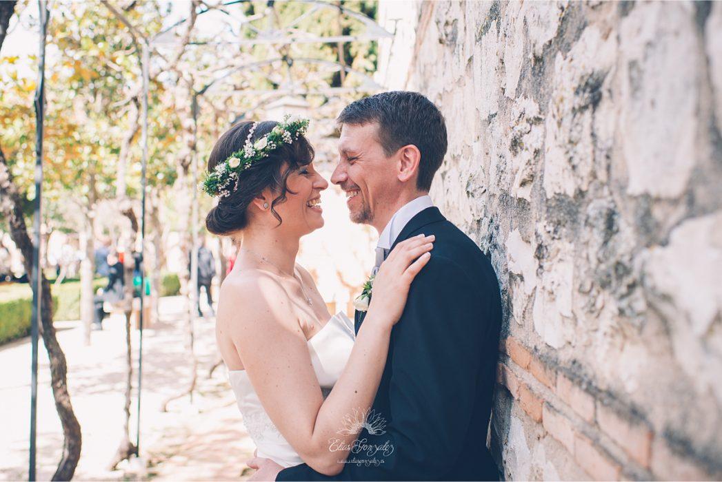 Daniela & Christian, Boda jardines de Retiro – Parador de Chinchon